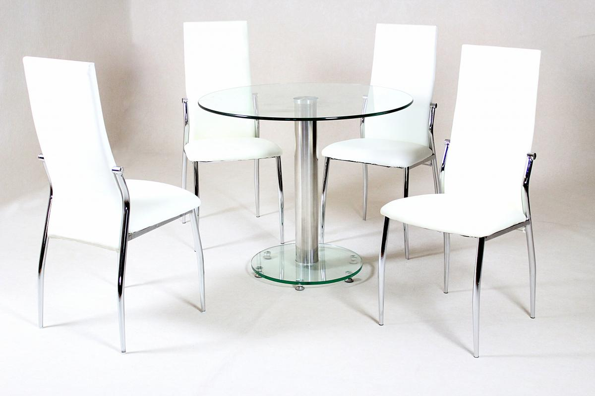 Viewing: Alonza Dining Table Clear |Dining Room Furniture|Dining  Tables|Heartlands Furniture Wholesale Ltd