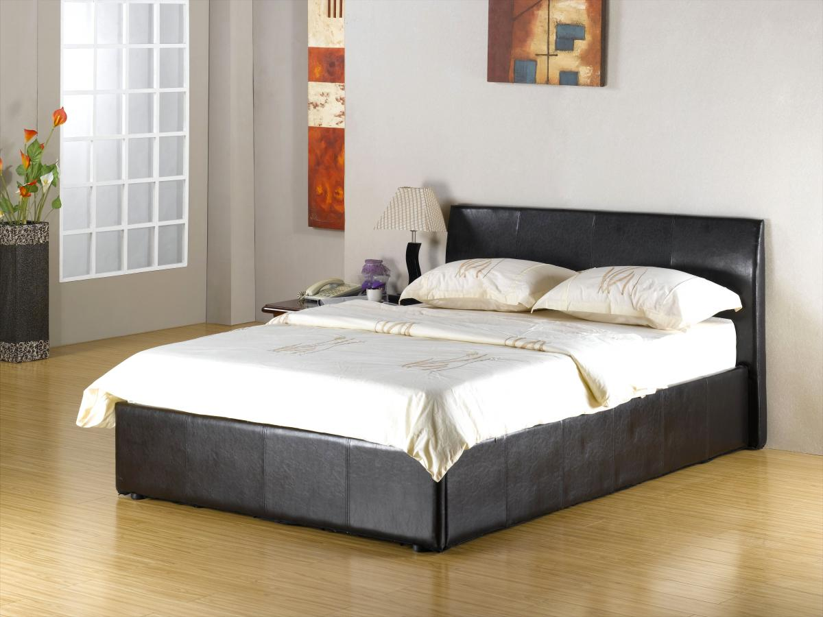 viewing fusion storage pu 4 foot bed beds 4 foot beds