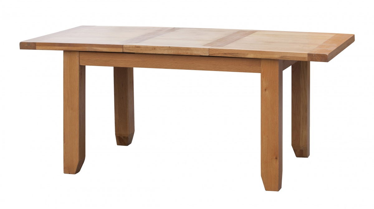 viewing acorn solid oak extending table small with 4